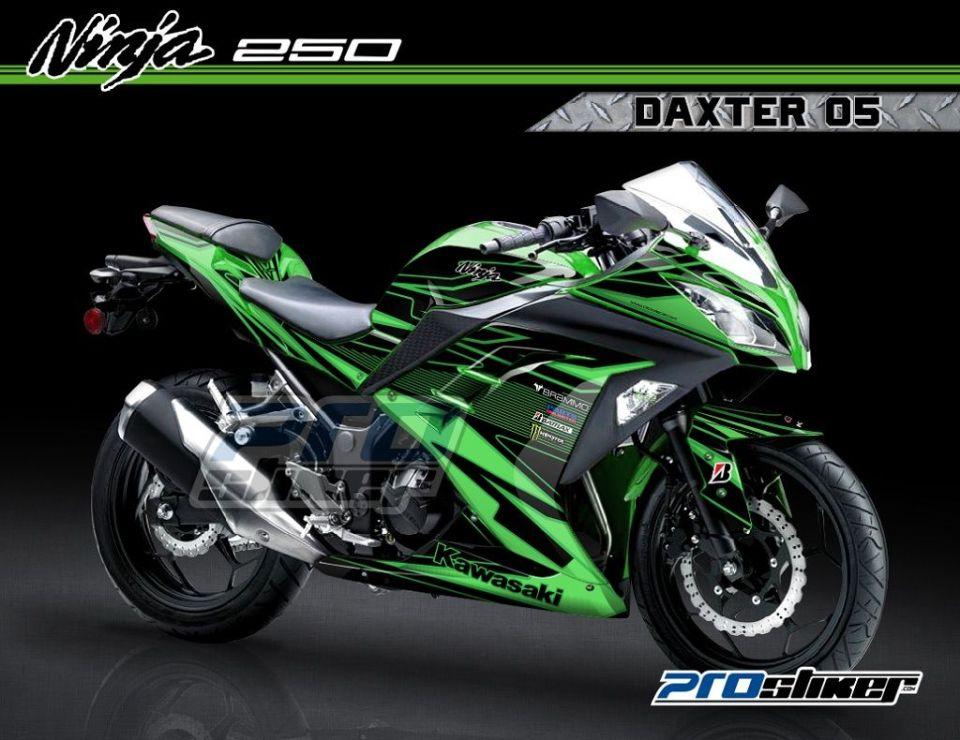 modifikasi ninja 250 fi warna hijau  paling bagus