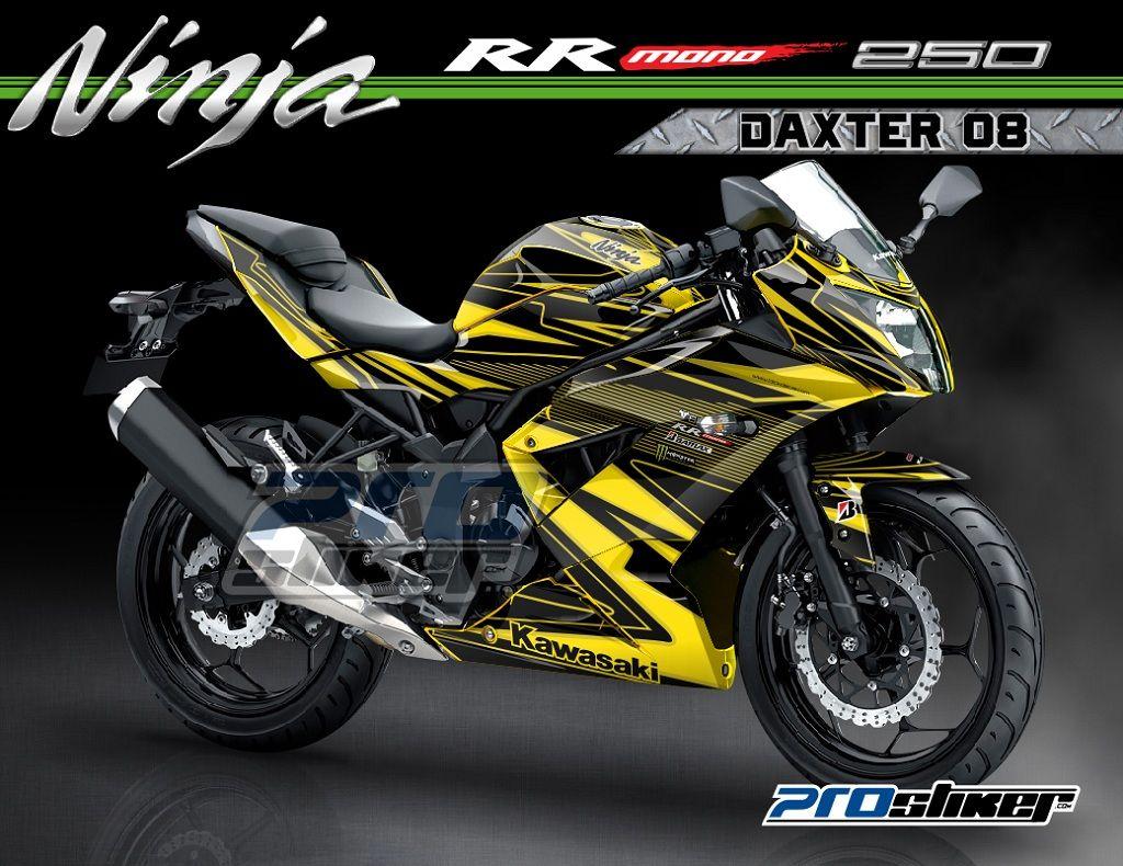 100 Gambar Motor Ninja Rr Warna Kuning Terbaru Obeng Motor